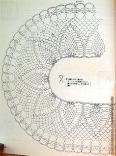 Crochet: Pineapple Table Runner
