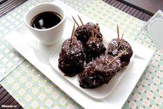 Recept: Pindakaas   banaan   pure chocolade = Gezonde snack