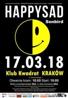 Galeria zdjęć z koncertu Sonbird, którzy supportowali występ Happysad w Krakowie: http://www.heavymetalandmore.pl/2018/03/sonbird-w-krakowie-galeria.html