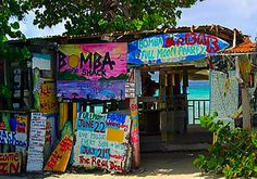 The world famous Bomba Shack in the British Virgin Islands has been named one of the Top 10 Beach Bars in the World by AOL Travel.
