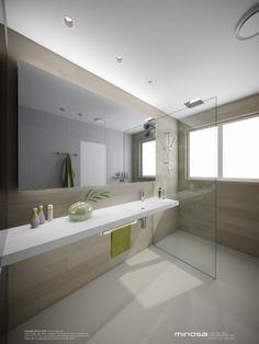 Minosa Design: Bringing Sexy Back - The Modern Bathroom  i like the colours