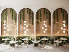Cafe Shop Design, Coffee Shop Interior Design, Restaurant Interior Design, Commercial Interior Design, Office Interior Design, Resturant Interior, Spa Interior, Turkish Restaurant, Deco Restaurant