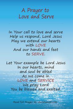 text lord jesus love serve neighb