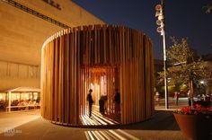 Temporary Pavilion by David Adjaye for London Design Festival Architecture Today, Parametric Architecture, Pavilion Architecture, London Architecture, Modern Architecture House, Sustainable Architecture, Architecture Design, Residential Architecture, Landscape Architecture