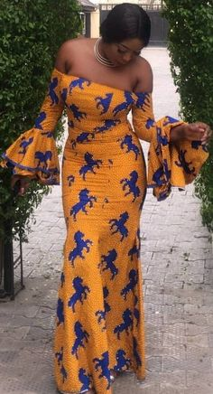 Long dress with African print, African fashion, Ankara, kitenge, African woman dress . African Fashion Designers, African Fashion Ankara, Ghanaian Fashion, African Inspired Fashion, African Print Fashion, Africa Fashion, African Dresses For Women, African Print Dresses, African Attire