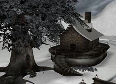 """Cabin Fever"" Captured Inside IMVU - Join the Fun! Good"