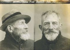 Geelong's police mugshots from a century ago