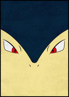 #157 Typhlosion - Pokemon Poster Art Art Print by Jorden Tually Art | Society6