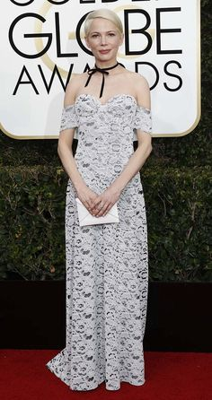 Michelle Williams at the 74th Annual Golden Globe Awards in Los Angeles on January 8, 2017