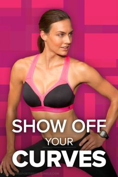Hit the gym feeling confident and secure in the Champion Curvy Show Off Sports Bra. #ChampionSportsBras