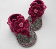 Crochet Baby First Walkers