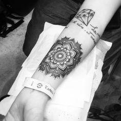 Mandala Forearm Piece