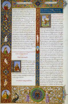 69 Biblia dos Jeronimos,Incipit do Livro do Levítico