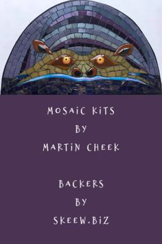 Mosaic Kits for all levels. Martin makes the fused pieces, Skeew sells the Backers for these kits. Great fun! Learn more! Mosaic Glass, Fused Glass, Stained Glass, Mosaic Kits, Mosaic Ideas, Art Crafts, Arts And Crafts, Cool Things To Make, How To Make