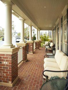 Brick Front Porch | HGTVRemodels.com