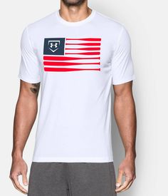 Shop Under Armour for Men's UA Baseball Flag T-Shirt in our Mens Tops department.  Free shipping is available in US.