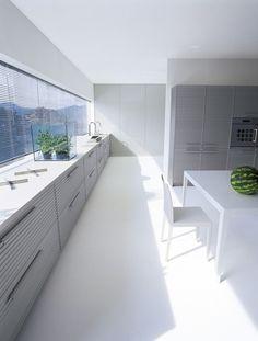 #Kitchen CINQUETERRE by SCHIFFINI | design Vico Magistretti #design