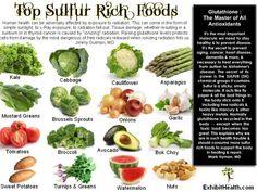 sulfur-rich foods