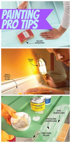 Run a Crisp Bead of Caulk Between Woodwork and Walls - Apply a thin bead of paintable acrylic latex caulk only inside the crack where wood meets a wall for a smooth, professional appearance. Remove extra caulk with a putty knife. And buy a dripless caulk gun to save time and frustration. Cut the tip smaller than you think you need.