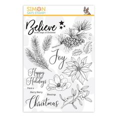 Simon Says Stamp clear stamps are high quality photopolymer and made in the USA. The stamp set measures 4 inches x 5 inches. These stamps coordinate with the Time for Wine wafer die set. Spring Scenery, Tampons, Simon Says Stamp, Penny Black, Card Kit, Clear Stamps, Cardmaking, Craft Supplies, Christmas Crafts