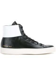 COMMON PROJECTS  lace-up hi-top sneakers