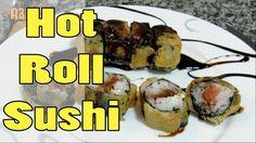 Como fazer HOT ROLL ! ( Hot Philadelphia !!)