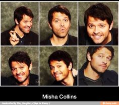 Misha Collins - OMG He's so cuuuttteee!!
