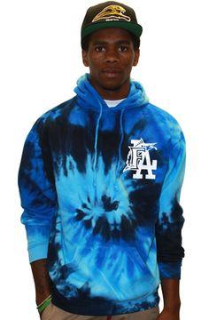 The FLA OG Tie Dye Hood_Blue by 8103