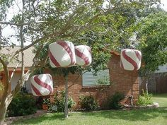 Image result for candyland outdoor decorations