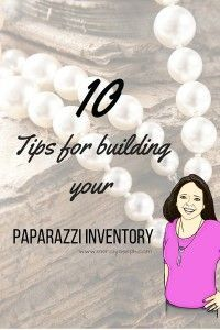 You've fallen in love with Paparazzi Accessories.  You've decided to take the plunge and become an independent consultant.  You've seen the posts in the Facebook groups, you've seen the pictures of huge displays and now you are wondering how, exactly, to build your inventory and turn your starter kit into your dreams.  Here are 10 …