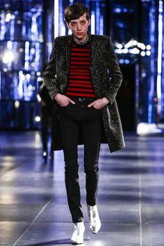#SaintLaurent Menswear Fall Winter 2015 Paris