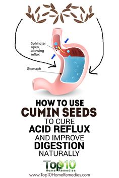 How to Use Cumin Seeds to Cure #Acid #Reflux And Improve Digestion Naturally