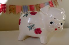 My vintage piggy bank