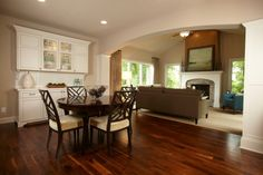 To separate dinning from living room. Love the wall unit.  That would be nice on my wall!