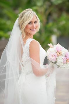 beautiful and classic bridal style