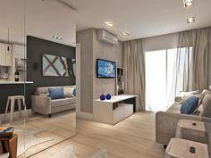 Ideias de @avarquitetura   Projeto Apartamento, Batel - Curitiba por Anna Claudia Veleiro  O projeto consiste em um apartamento pequeno, mas funcional e confortável p/ um jovem casal. Trabalhamos de forma que conseguíssemos aproveitar e explorar ao máximo as qualidades de cada ambiente, dando a eles o uso adequado conforme as necessidades dos clientes.  #ideiasinteriores #ideias #interiores #arquitetos #designers#arquiteturadeinteriores #designdeinteriores #euvalorizo…