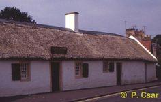 Robert Burns' Museum, Alloway, Scotland. Birthplaceof the Bard