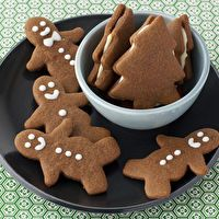 Gingerbread Cookies for the Holidays by Food Network