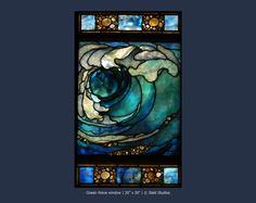 Ocean Wave window