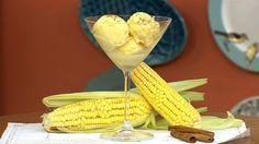 Aprenda a fazer a receita de Sorvete de Milho Verde