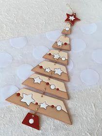 Advents- und Weihnachtsdekoration ceramic as a craft: Christmas tree in glazed ceramic in dry cuerda Clay Christmas Decorations, Polymer Clay Christmas, Polymer Clay Crafts, Christmas Ornaments, Christmas Tree, Cerámica Ideas, Holiday Crafts, Holiday Decor, Clay Ornaments