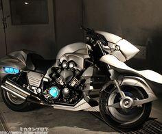 La motocicleta de Saber de Fate Zero a escala real