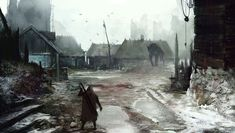 Image result for the witcher werewolf art