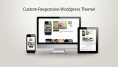 iPhone App Wordpress Landing Page
