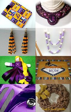 Purple and Gold - TeamUNITY - Group 2 by Lona on Etsy--Pinned with TreasuryPin.com