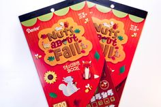 Nuts About Fall Darice Sticker Book - SB1
