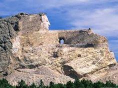 Crazy Horse Memorial - The Black Hills, in Custer County, South Dakota USA
