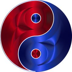 red blue yin yang stickers for all occasions. And don't forget you can customize your order. Size: inch (sheet of Color: blue/red. Arte Yin Yang, Yin Yang Art, Yin Yang Tattoos, Symbole Ying Yang, Jing Y Jang, Kurt Lewin, Foto Logo, Marshmello, Ying Yang Symbol
