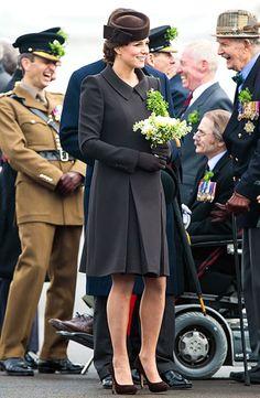 March 17, 20015. Kate Middleton - St. Patrick's Day