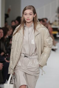 Gigi Hadid walks the runway at the Tod's fashion show